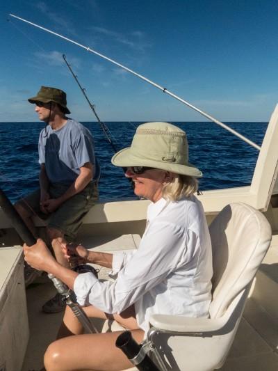 Deep-sea fishing, Eleuthera